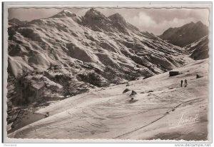 Valloire - Vue sur le Massif de la Sétaz