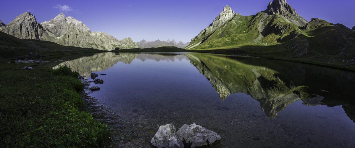 Le lac des Cerces