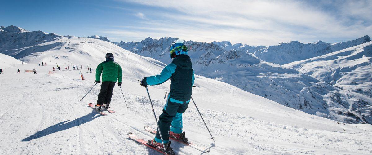 Apprentissage du ski