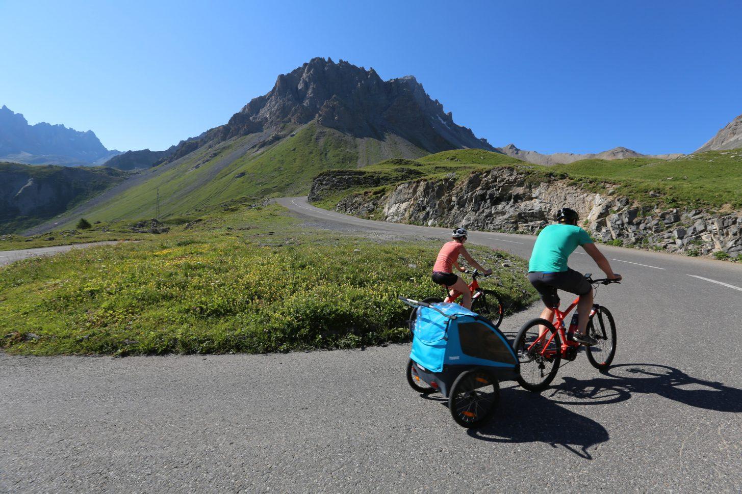 Montée du col du Galibier en vélo à assistance électrique !