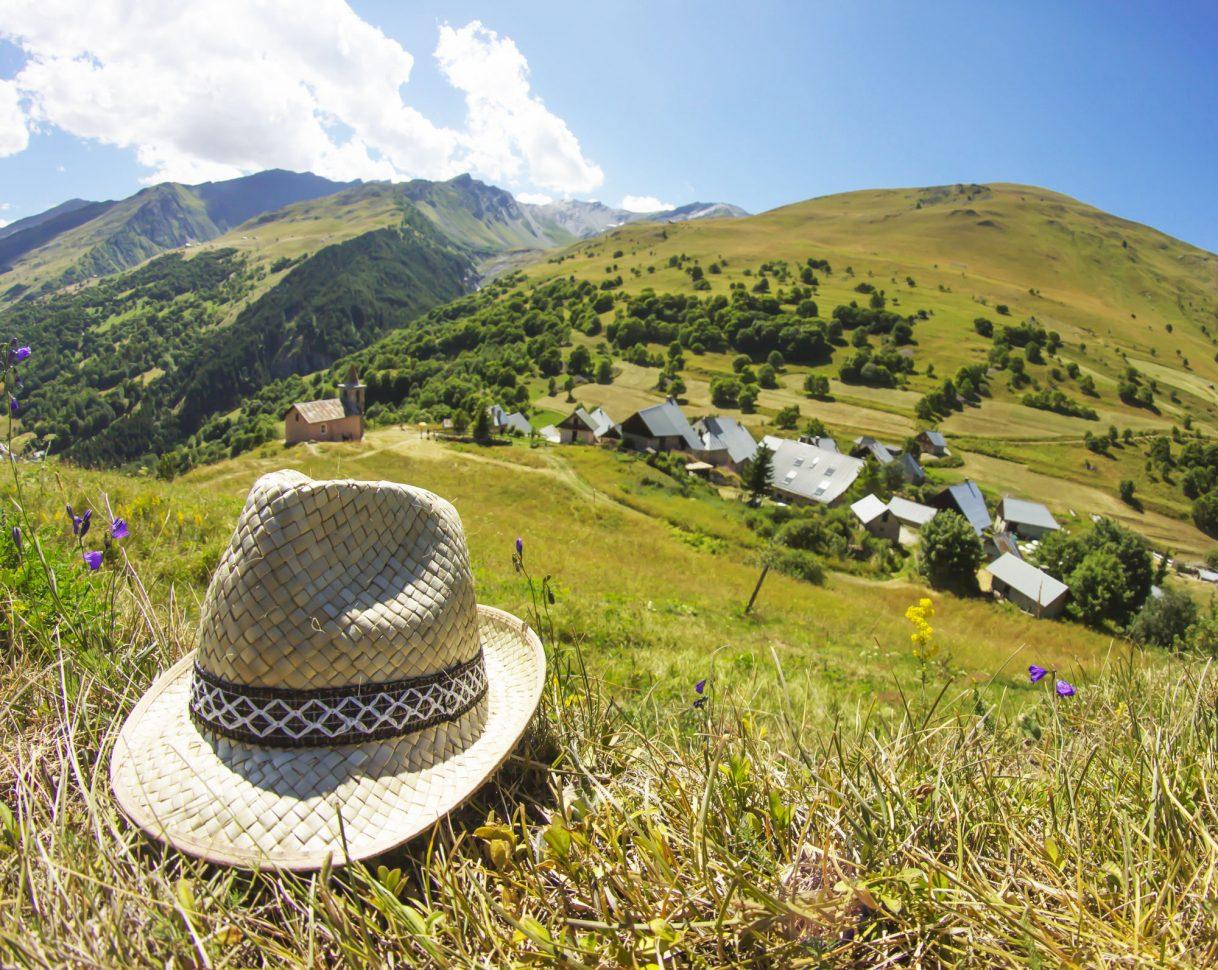 Vue sur le hameau de Poingt-Ravier