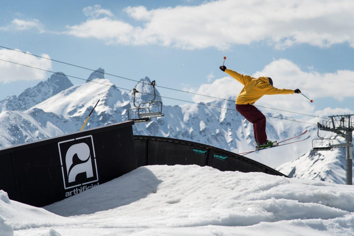Snowpark de Valloire