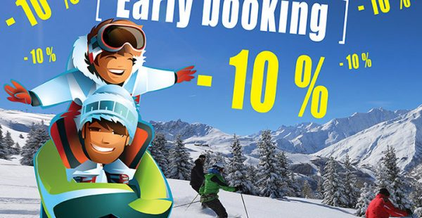 Promo Early Booking Hiver 2021/2022 -10%