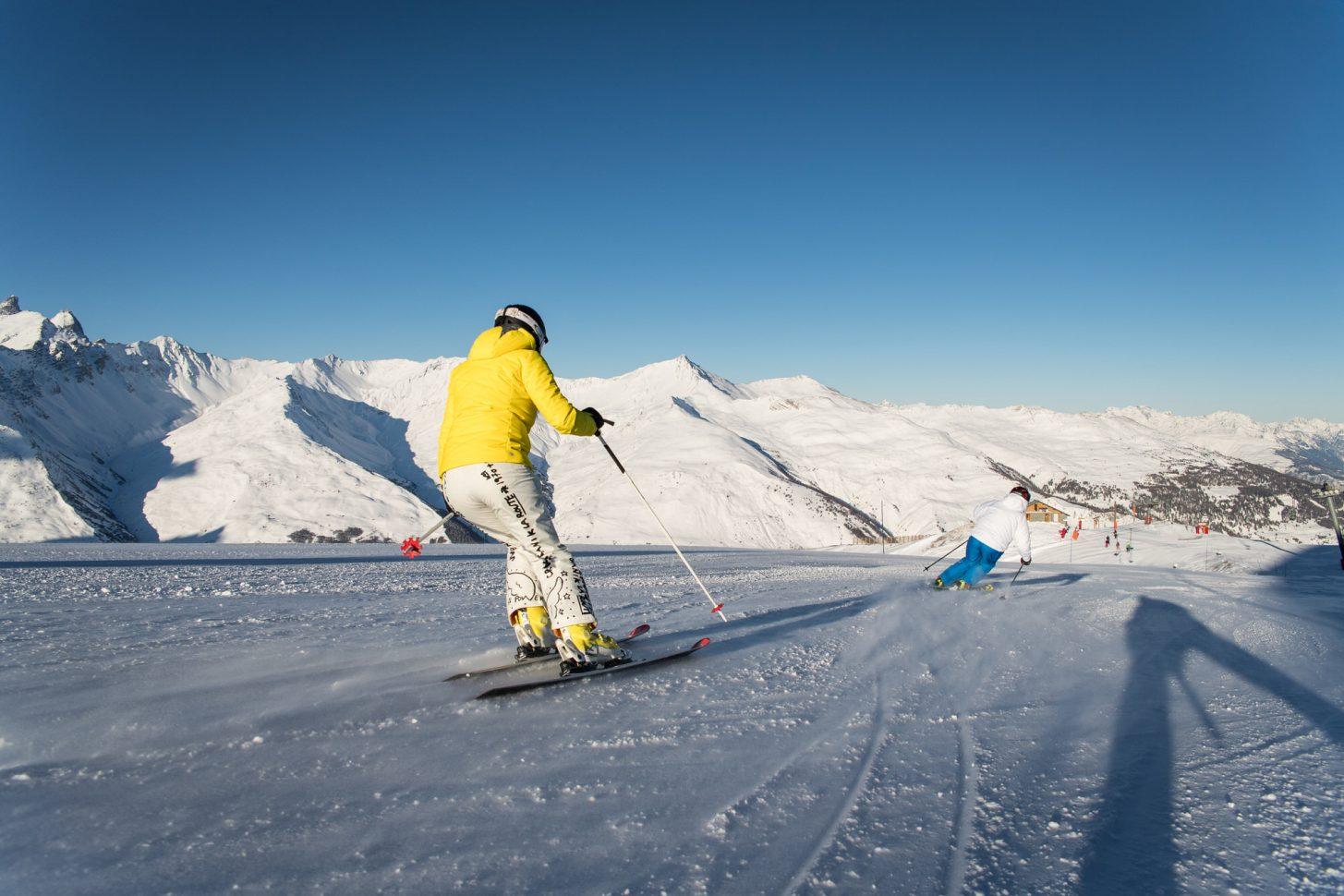 Le plaisir du ski - massif de la Sétaz
