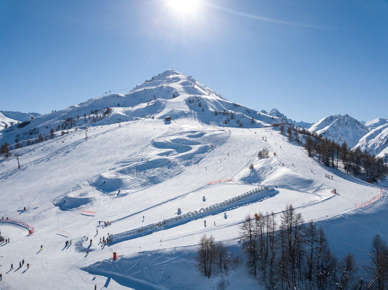 Domaine Skiable de Valloire - Massif de la Sétaz