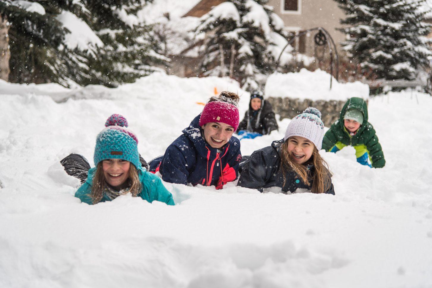 Le plaisir de la neige !
