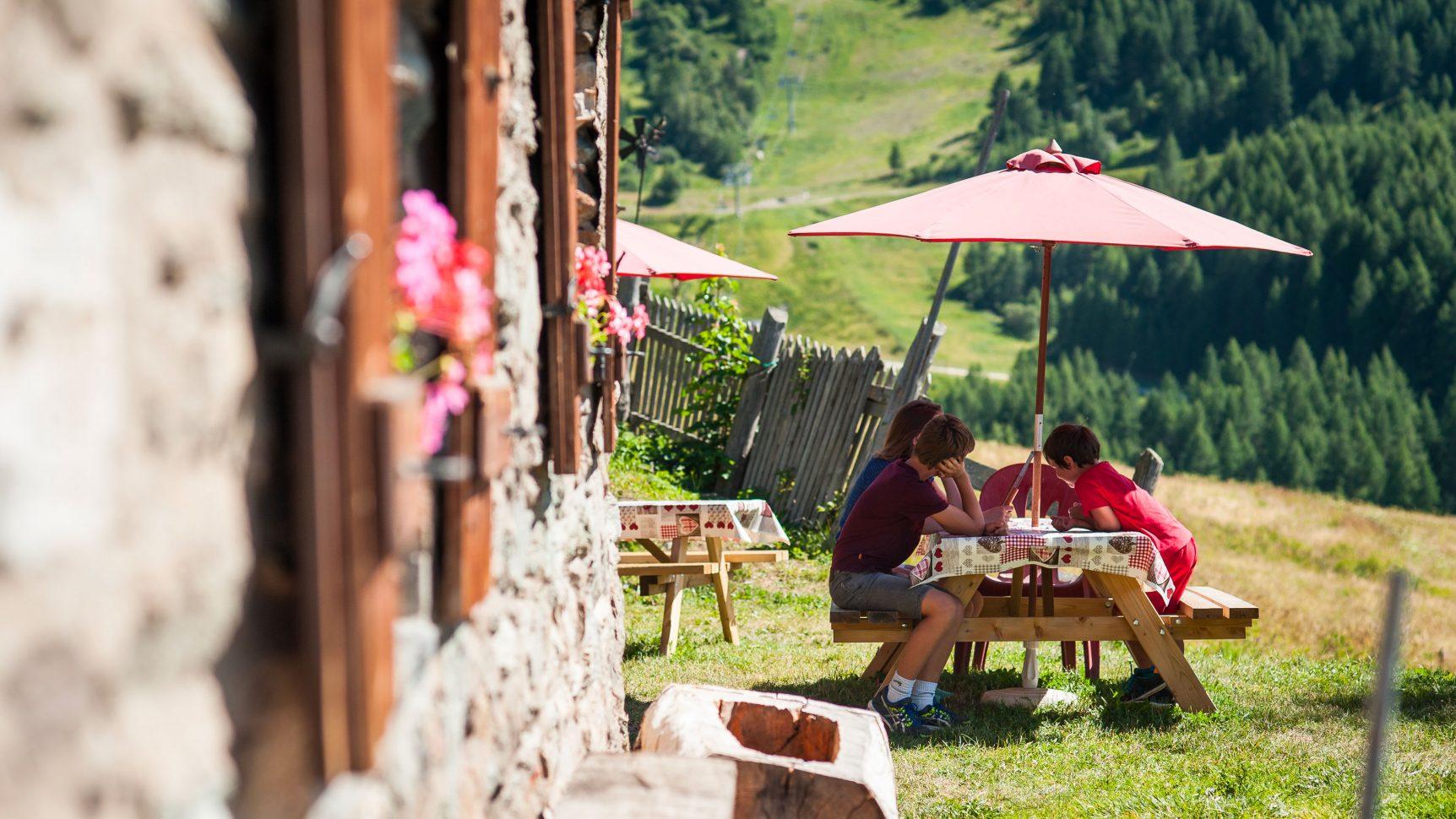 Restaurant d'altitude à Valloire