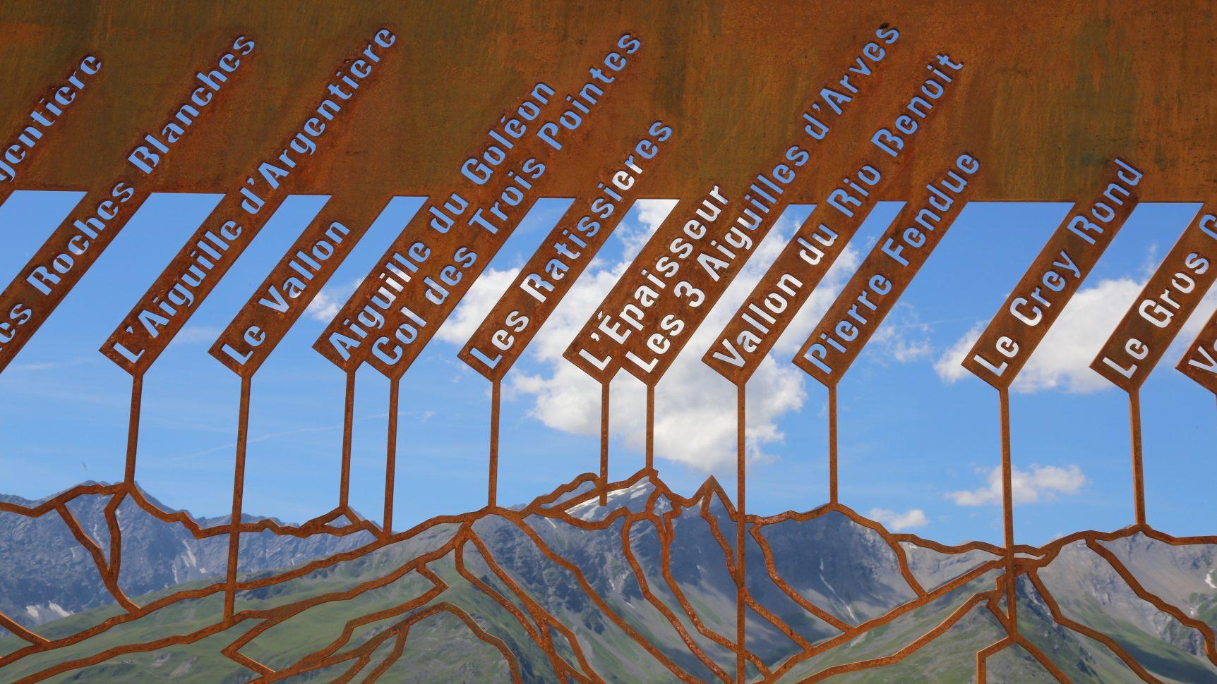 Panorama sur les sommets de Valloire