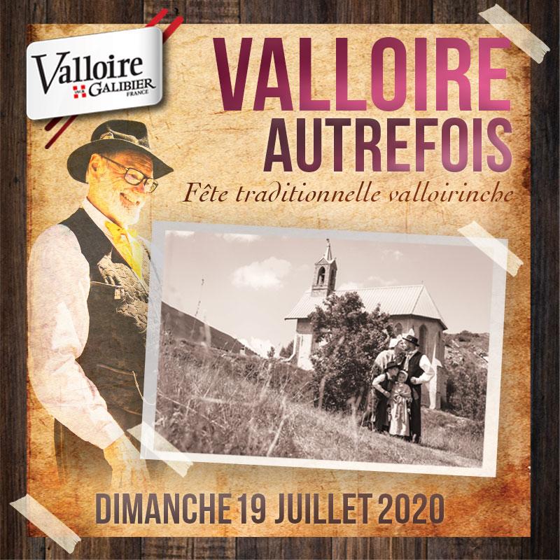 Valloire Autrefois, événement traditionnel