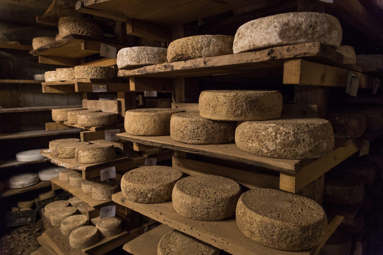Fromage de la ferme du Pré Clos à Valloire