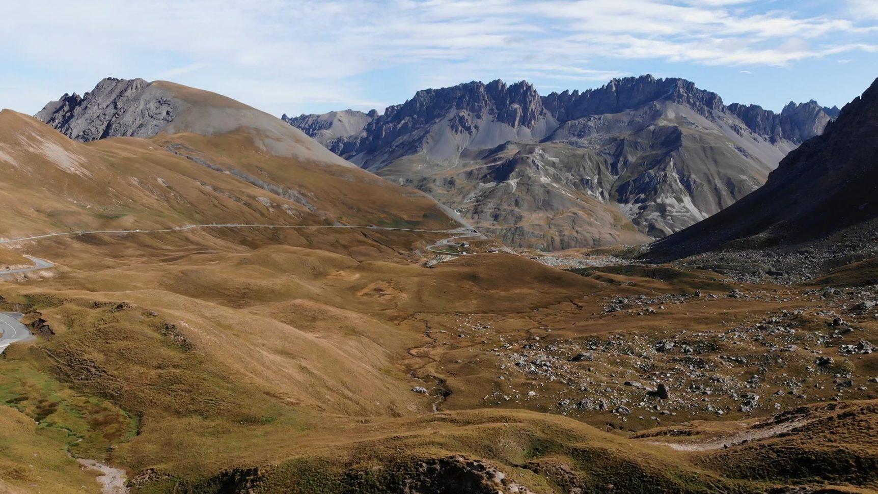 Route du Galibier côté Valloire