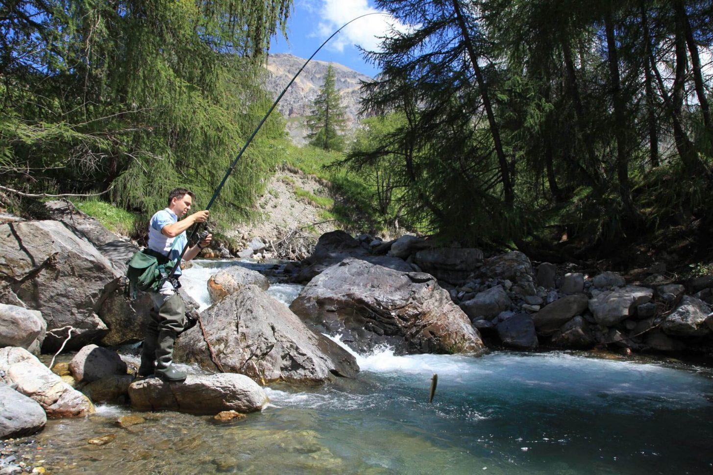pêche à Valloire Galibier