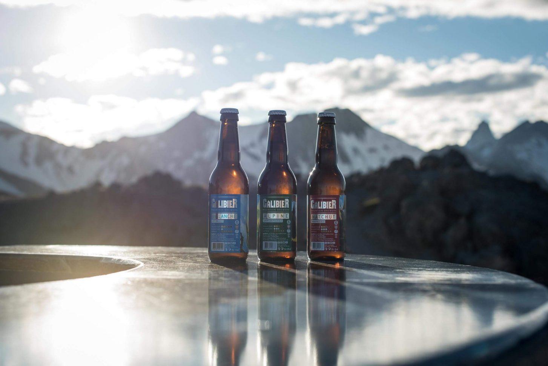 Bière du Galibier à Valloire