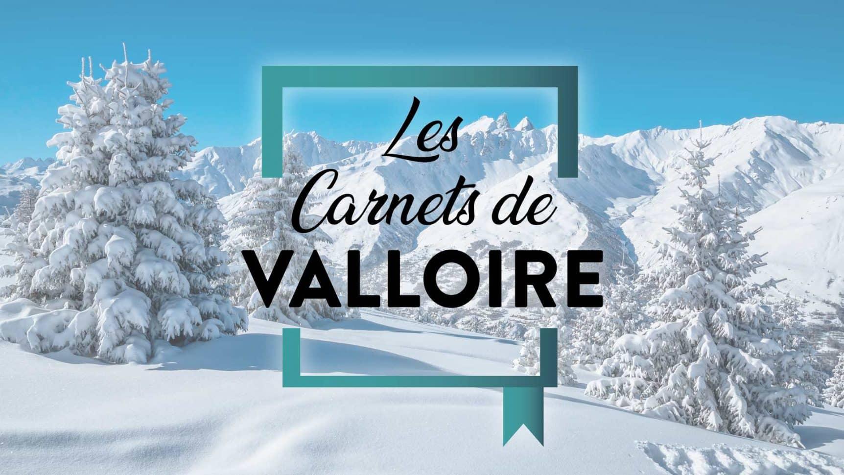 foret enneigée les carnets de Valloire