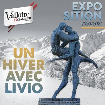 Un hiver avec Livio - Exposition de Sculptures monumentales à Valloire !
