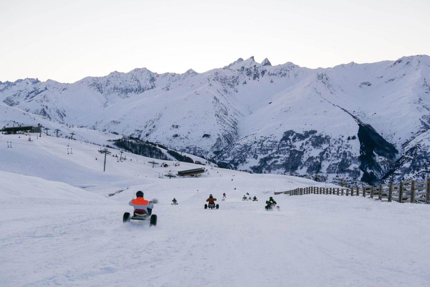 Mountain-kart: faîtes le plein de sensations.