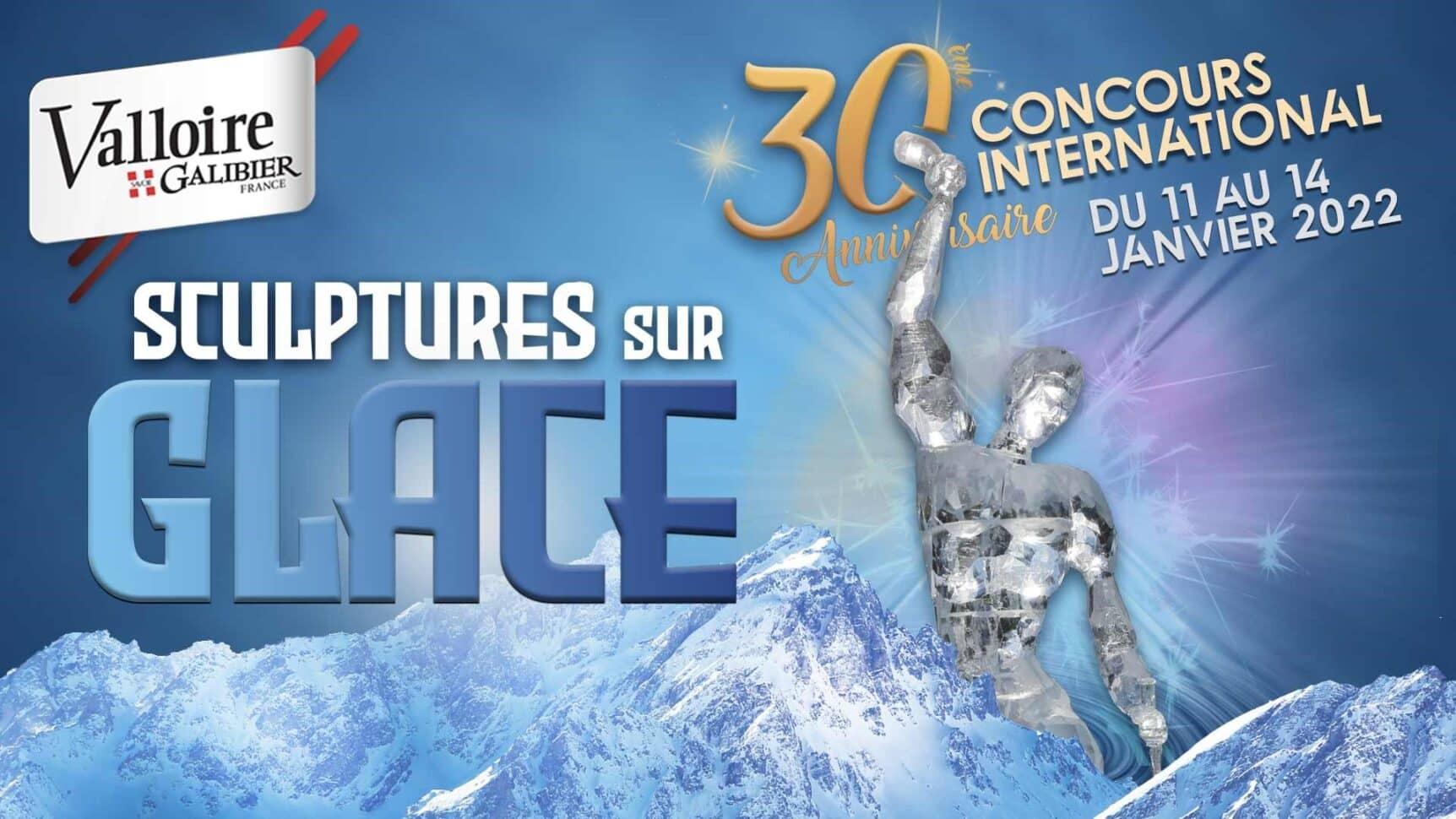 affiche concours sculptures sur glace 2021