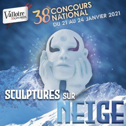 concours sculpture sur neige 2021