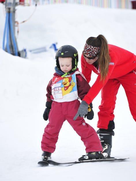 cours de ski pour enfant à Valloire