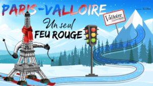 Paris-Valloire: un seul feu rouge !