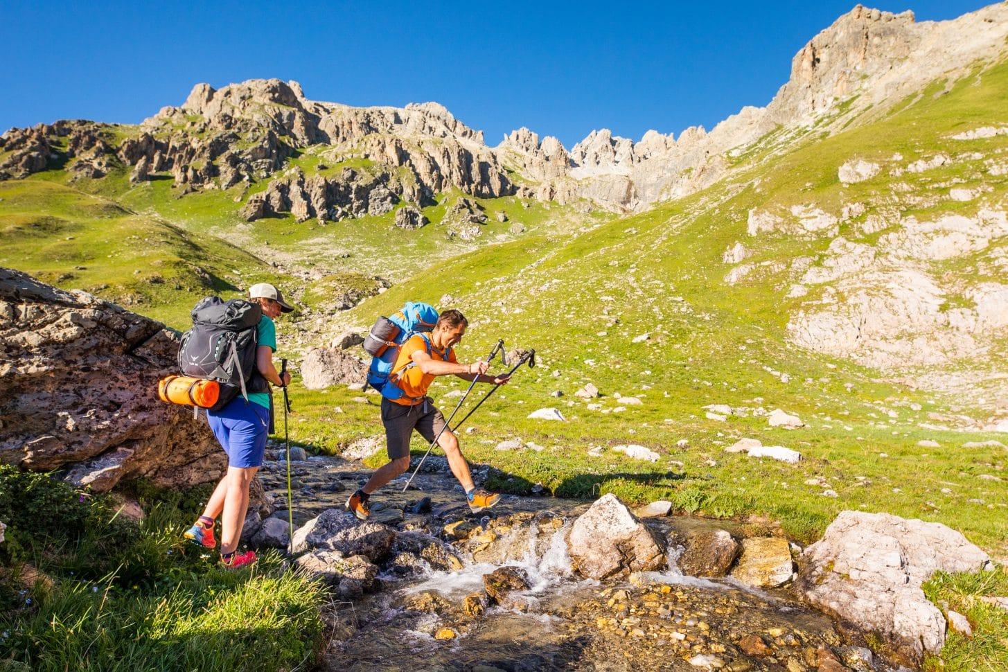 randonnées en montagne au lacs des cerces à valloire
