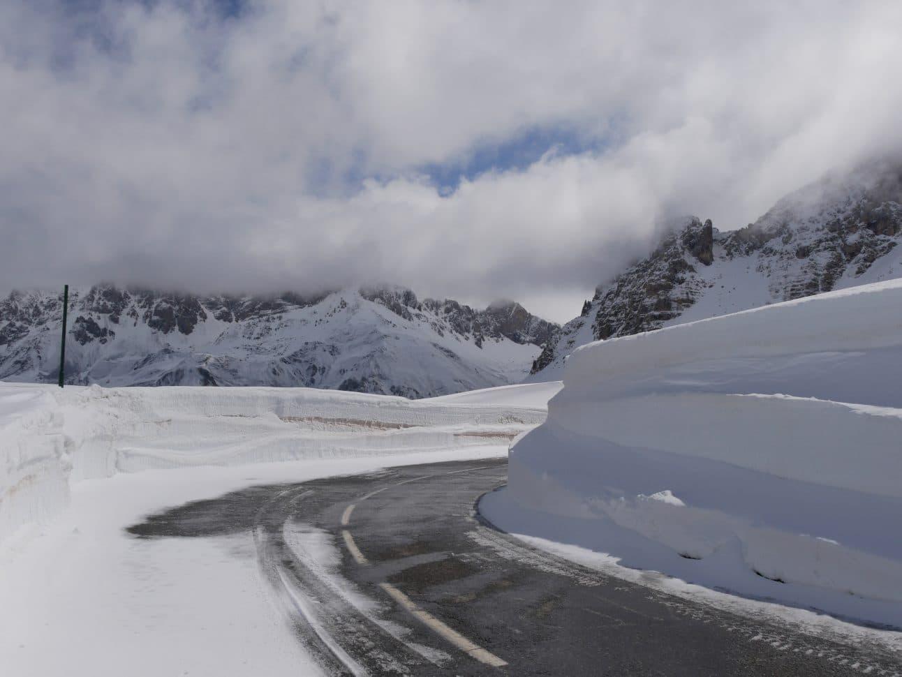 Ouverture de la route du col du Galibier à Valloire