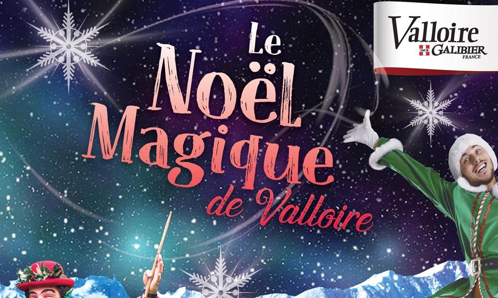 Affiche Noel magique de Valloire