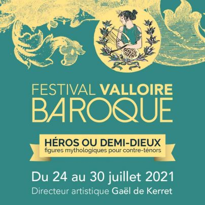 affiche festival baroque valloire 2021